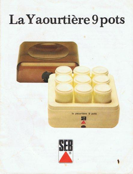 Notice yaourti re seb 8872 ustensiles de cuisine - Yaourtiere seb multi delice 6 pots ...