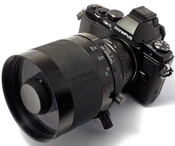 Tamron SP Adaptall-2 500mm f/8 (Modèle 55B) E-m5-cata-39dac00
