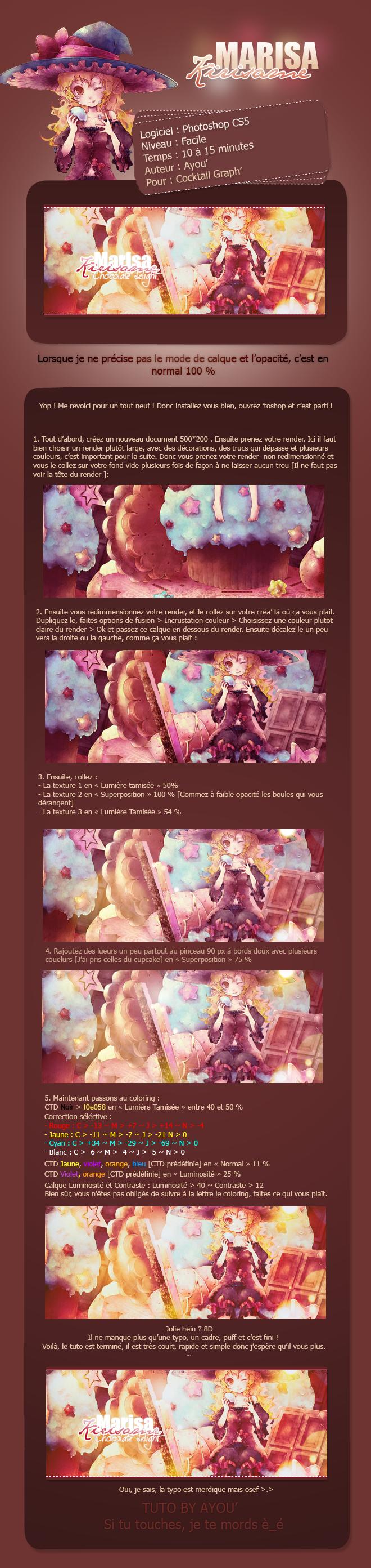 Signature Marisa Kirisame ~ Chocolate Delight [Facile ~ 5 rendus] Marisakirisame-3725e2e