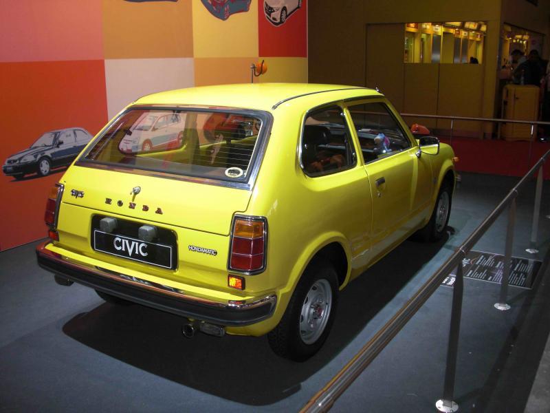 Pour les 40 ans de la Civic et mondial de l'automobile 2012 Cimg8210-38620b1